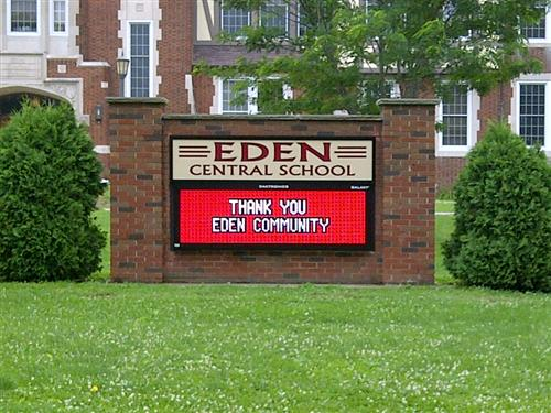 Eden CSD Digital Sign