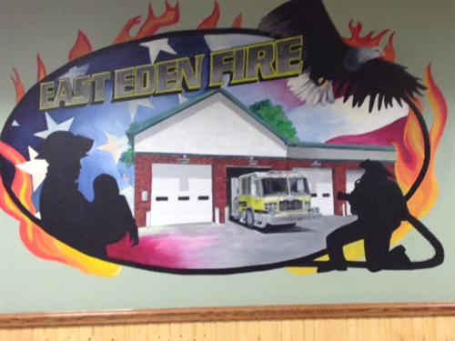 fire hall mural