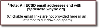 all e-mail addresses end with edencsd.wnyric.org