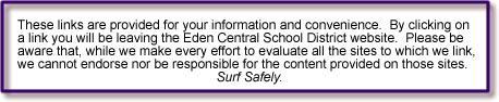 Leaving ECSD website   Surf Safely!